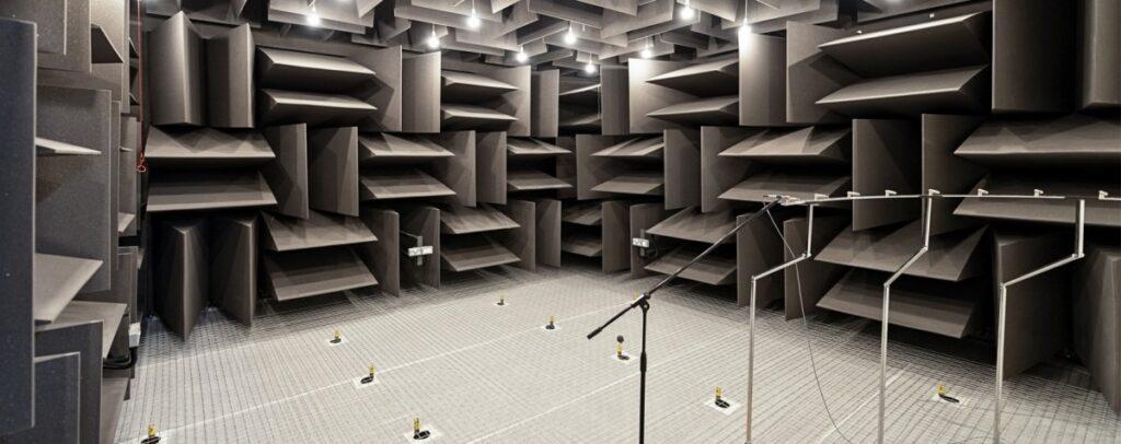 absorbtion panel inside room