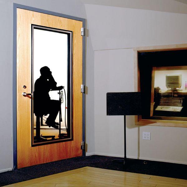 ประตูเหล็กกันเสียง